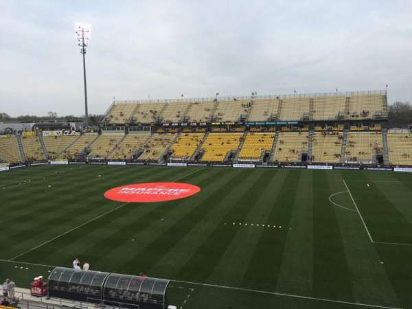 Mapfre Stadium, section: 223, row: 2, seat: 18