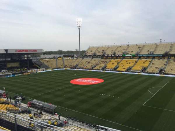 Mapfre Stadium, section: 222, row: 1, seat: 20