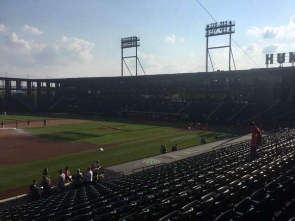 Huntington Park, section: 21, row: T, seat: 17