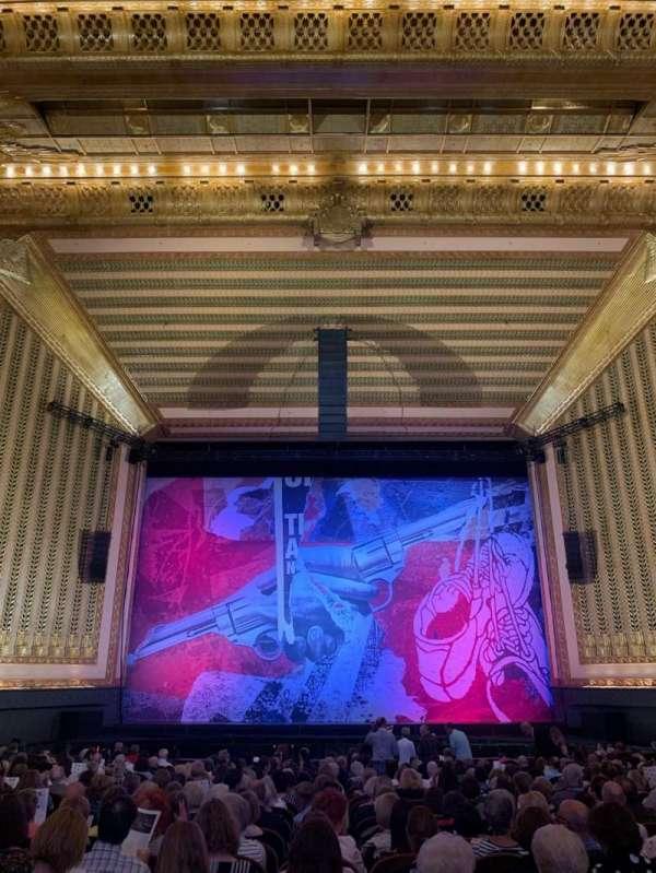 Lyric Opera House, section: Ochestra center, row: X, seat: 105