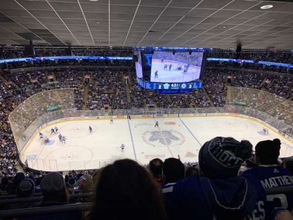 Scotiabank Arena, section: 322, row: 16, seat: 12