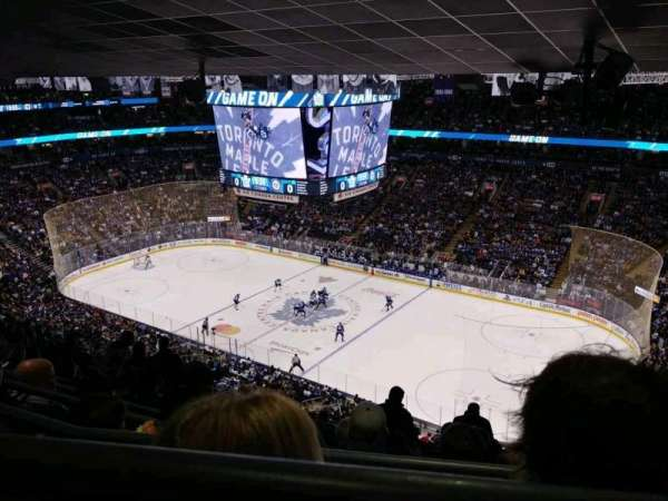 Air Canada Centre, section: 307, row: 15, seat: 1