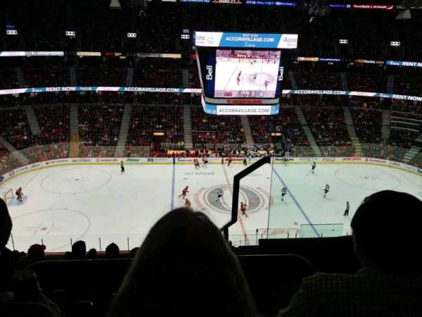 Canadian Tire Centre, section: 323, row: J, seat: 2