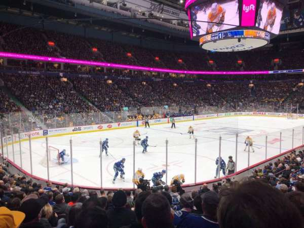 Rogers Arena, section: 109, row: 14, seat: 106
