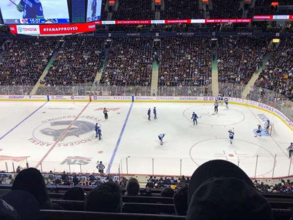 Rogers Arena, section: 322, row: 5, seat: 1