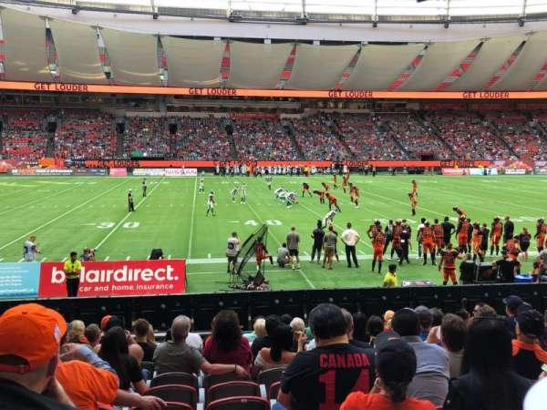 BC Place, section: 243, row: L, seat: 10