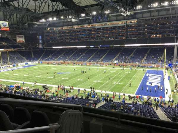 Ford Field, section: 234, row: 4, seat: 2