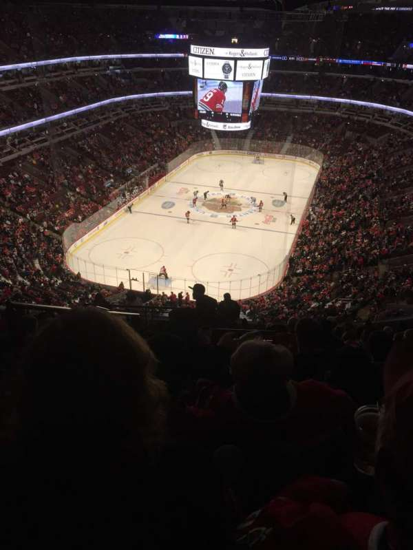 United Center, section: 324, row: 15, seat: 23