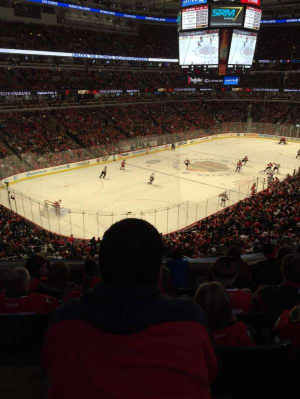 United Center, section: 205, row: 6, seat: 6
