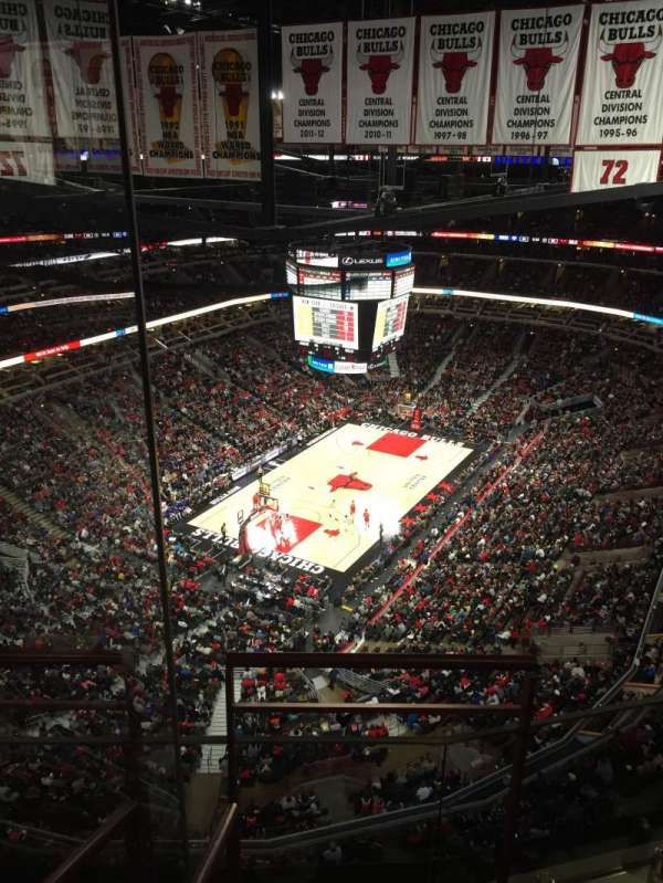 United Center, section: P56