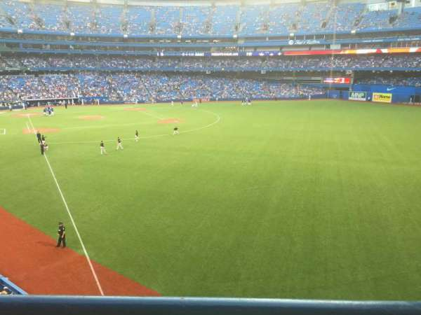 Rogers Centre, section: 210R, row: 1, seat: 3