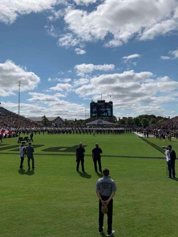 Ross-Ade Stadium, section: 118, row: 2, seat: 8