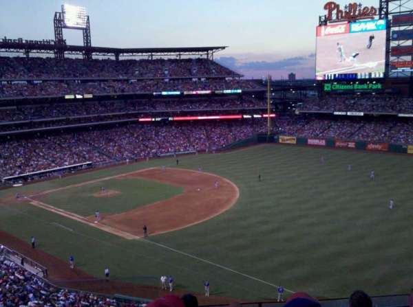 Citizens Bank Park, section: 309, row: 5, seat: 24