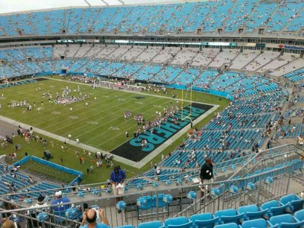 Bank of America Stadium, section: 533, row: 6, seat: 11