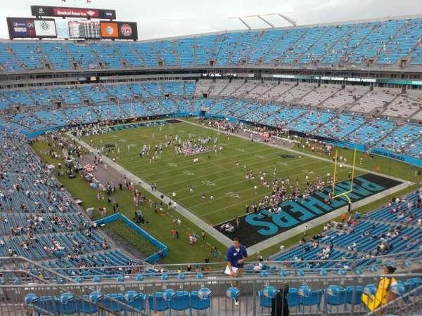Bank of America Stadium, section: 533, row: 6, seat: 13