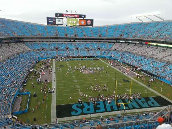 Bank of America Stadium, section: 530, row: 5, seat: 14