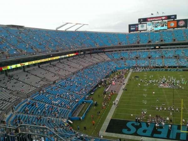 Bank of America Stadium, section: 529, row: 4, seat: 14
