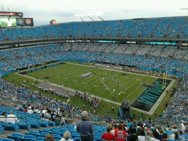 Bank of America Stadium, section: 509, row: 13, seat: 15