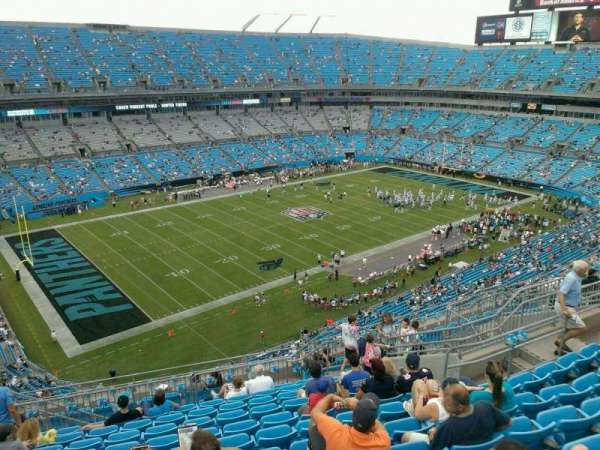 Bank of America Stadium, section: 520, row: 11, seat: 15