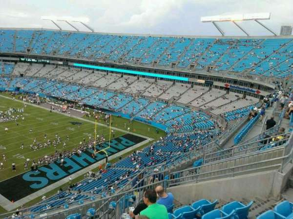 Bank of America Stadium, section: 532, row: 8, seat: 14