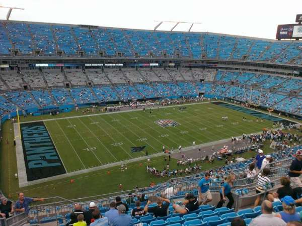 Bank of America Stadium, section: 519, row: 11, seat: 14