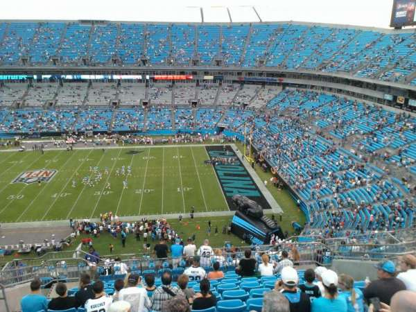 Bank of America Stadium, section: 512, row: 11, seat: 14