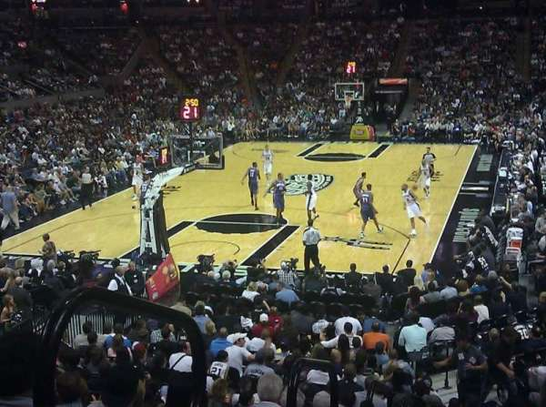 AT&T Center, section: 113, row: 24, seat: 8