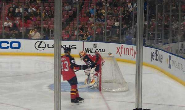 BB&T Center, section: 115, row: 7, seat: 2