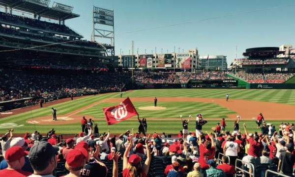 Nationals Park, section: 128, row: BB, seat: 5
