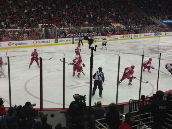 PNC Arena, section: 123, row: M, seat: 10