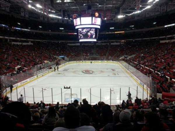 PNC Arena, section: 126, row: S