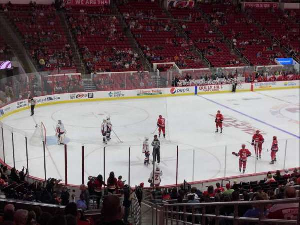 PNC Arena, section: 123, row: Z, seat: 1