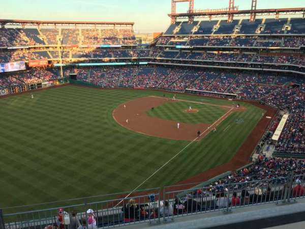Citizens Bank Park, section: 434, row: 1, seat: 2