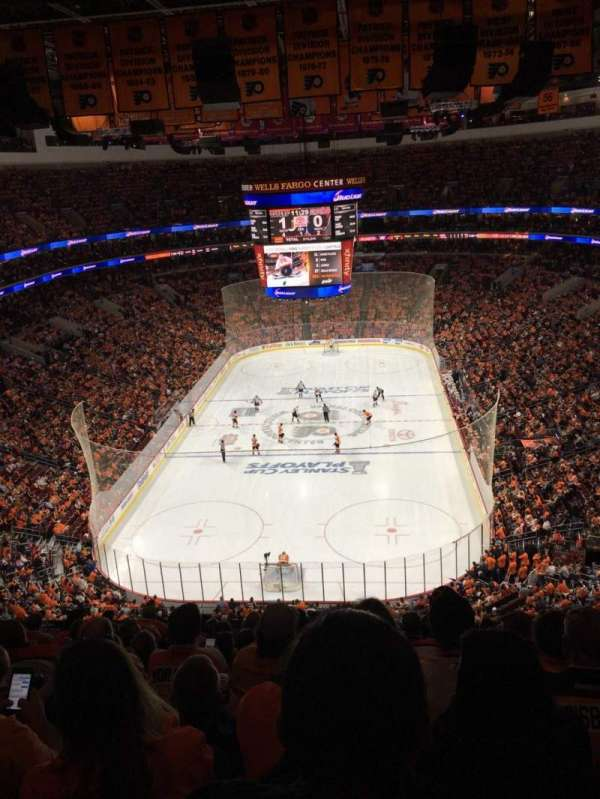 Wells Fargo Center, section: 219A, row: 13, seat: 11