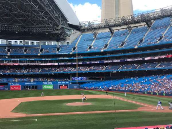 Rogers Centre, section: 126L, row: 24, seat: 105