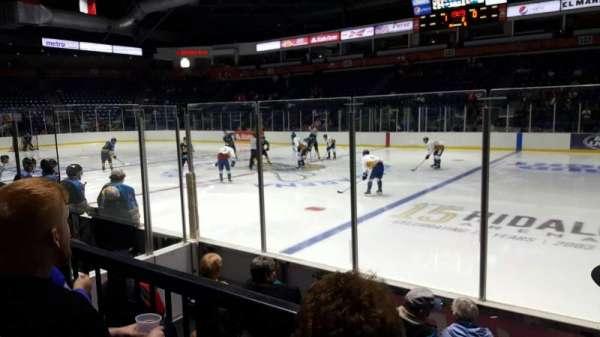Payne Arena, section: 113, row: E, seat: 1