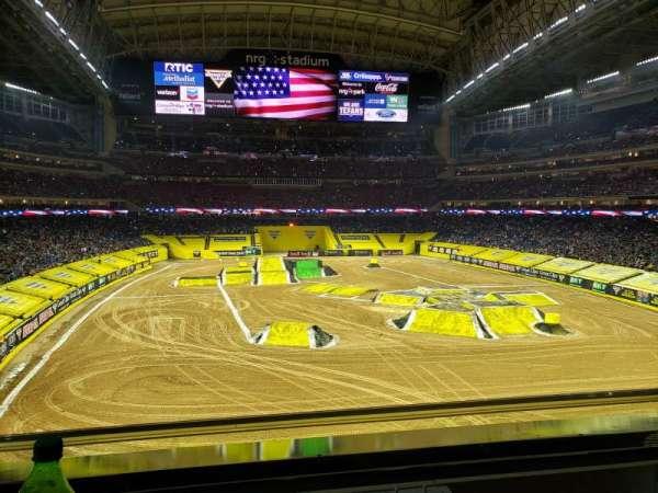 NRG Stadium, section: 325, row: A, seat: 8