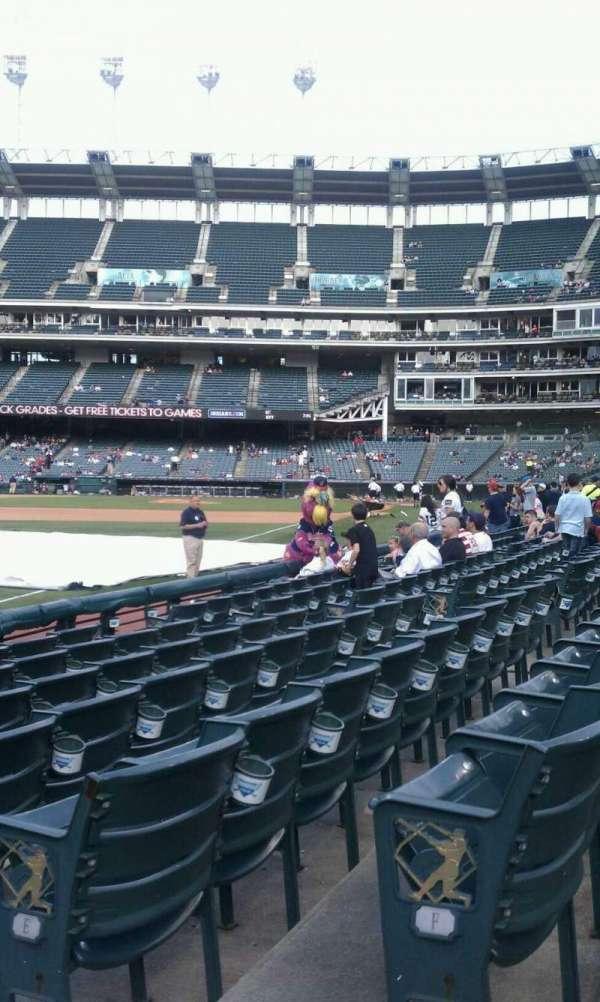 Progressive Field, section: 175 , row: G, seat: 2