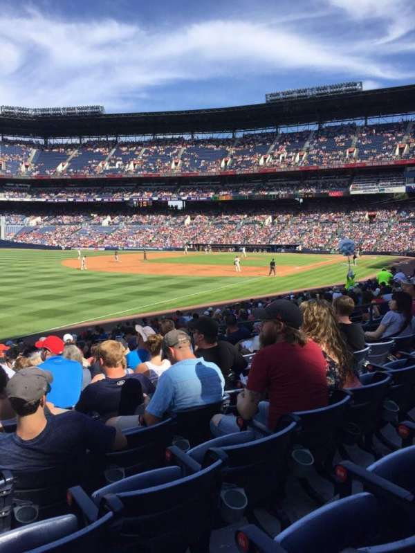 Turner Field, section: 146, row: 20, seat: 114