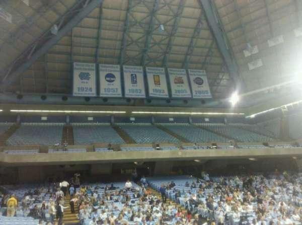 Dean E. Smith Center, section: 115