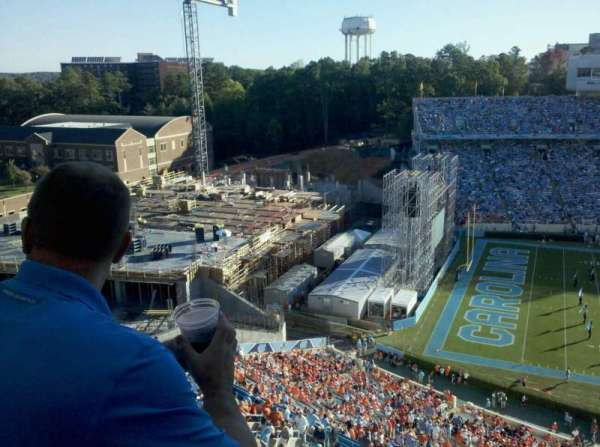 Kenan Memorial Stadium, section: 201