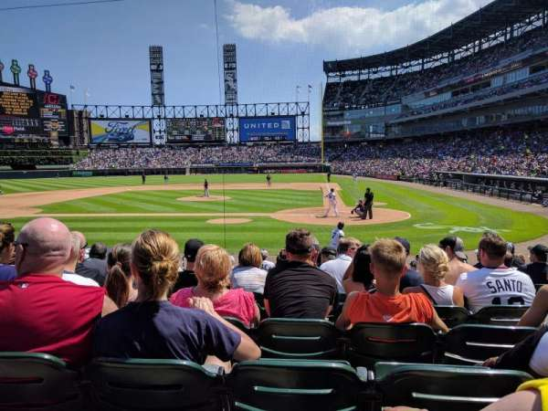 Guaranteed Rate Field, section: 136, row: 14, seat: 4