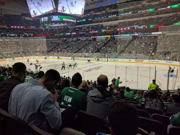 American Airlines Center, section: 116, row: R, seat: 4