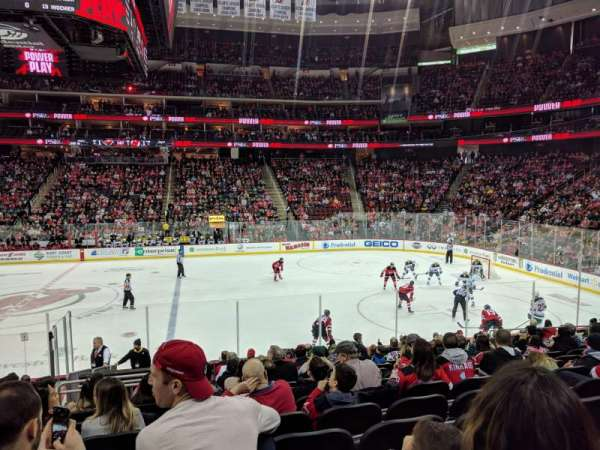 Prudential Center, section: 20, row: 16, seat: 15