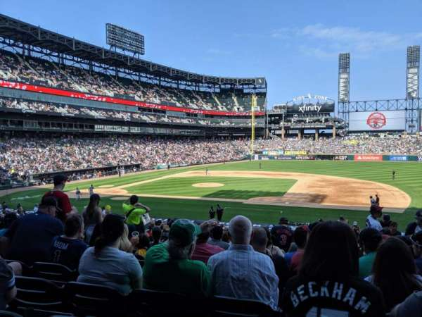 Guaranteed Rate Field, section: 123, row: 30, seat: 5