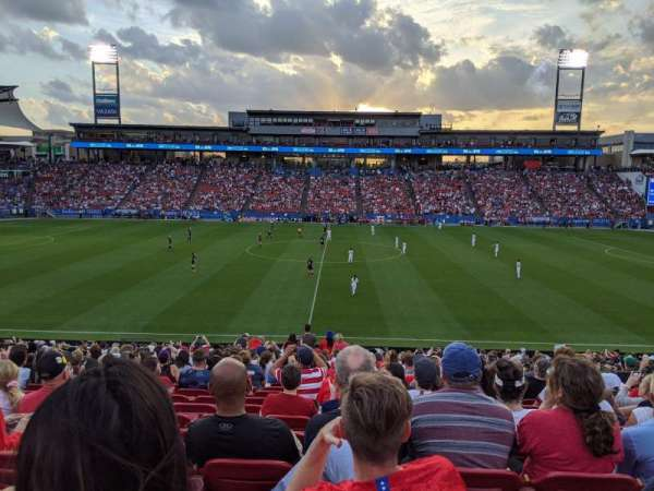 Toyota Stadium, section: 127, row: 23, seat: 15
