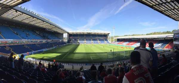 Ewood Park, section: S03, row: 21, seat: 112