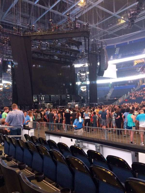 Amalie Arena, section: 116, row: D, seat: 9