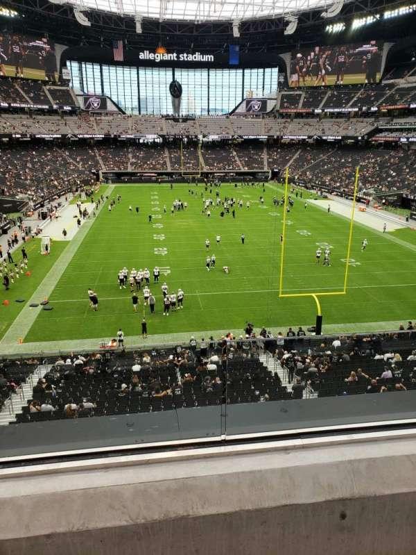Allegiant Stadium, section: 226, row: 2, seat: 11