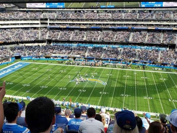 SoFi Stadium, section: 324, row: 8, seat: 5